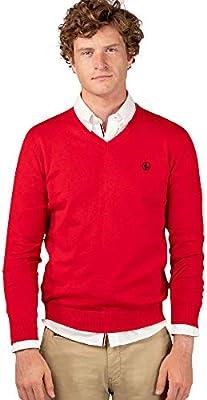 El Ganso Casual 1 Jersey, Rojo (Rojo 0004), mall para Hombre