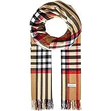 Ornella Venturi Foulard pour femme   homme en écharpe à carreaux en damier  tendance à carreaux 3725199049d