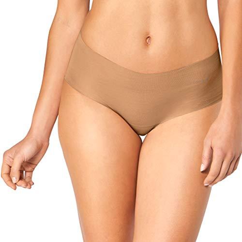 Sloggi Damen Short, Zero Cotton, 3 Stück in Hautfarben Free Cut Technologie (3, S)