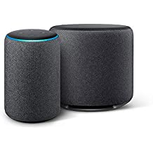 Echo Sub Combo with Echo Plus (2nd Gen) - Black