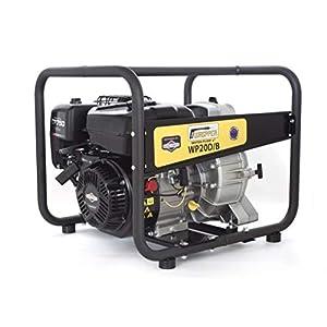 ✦ Briggs & Stratton WP20D-B ✦ Bomba de Agua Sucia De Uso Rudo & Portable con Tasa de Flujo de 30 000 l/hr ✦ Elevación de Agua de 28 m ✦ 3 600 RPM Motor de Gasolina de 4 Tiempos