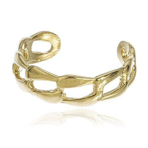 real-10k-yellow-gold-cuban-link-toe-ring-by-jotw