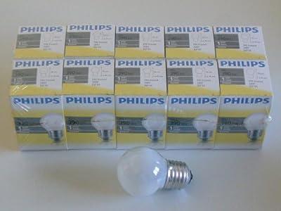 Philips Glhlampe Glhbirne Matt E27 40w Tropfen 10 Stck Tropfenlampe von Philips
