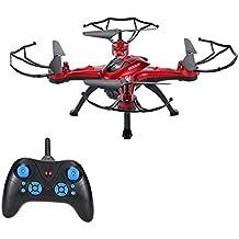 GoolRC Drone con Cámara 2.0MP HD RC Quadcopter T5C 2.4GHz 4CH 6 Ejes Girocompás con Funciones de Retorno Una-tecla Modo CF 360 ° Eversión