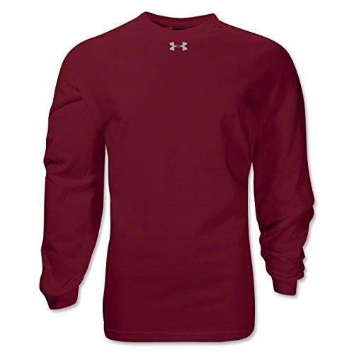Under Armour Mens Locker Long Sleeve T-Shirt Marron