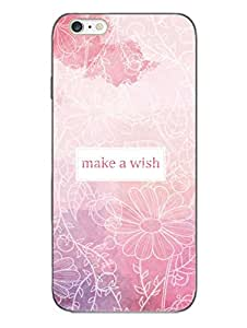 iPhone 6 6S Cases & Covers - Make A Wish - Floral - Designer Printed Hard Shell Case