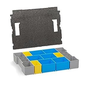 Bosch Sortimo Insetboxenset BC 3 Höhe 6 cm und Deckeleinlage