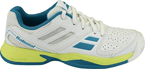BABOLAT Pulsion allcourt Junior Unisex Scarpe da tennis diversi colori YCSports 2016 Bianco