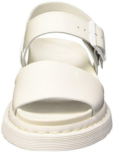 Bianco Clarissa Stivali Riva Martens Femme Sandale Dr vw1z4Z