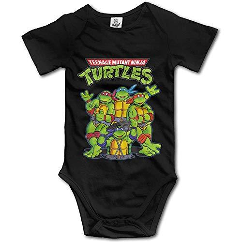 Teenage Mutant Ninja Turtles Unisex Short Sleeve Bodysuit Set for Baby 12Months