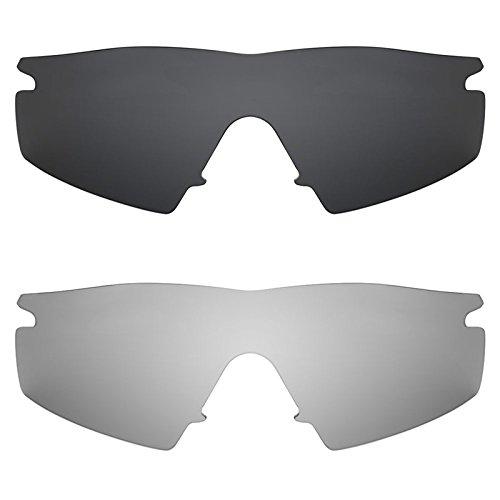 Revant Ersatzlinsen für Oakley M Frame Strike Polarisiert 2 Paar Kombipack K001