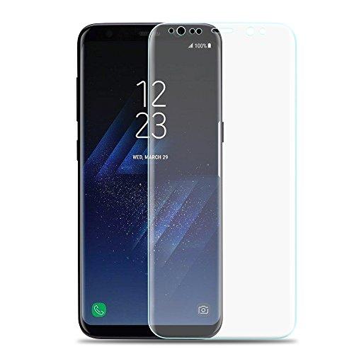 Produktbild Samsung Galaxy S8 Full Cover Panzerglasfolie Folie Panzerglas 3D 9h Curve neue Version in Transparent von VAPIAO