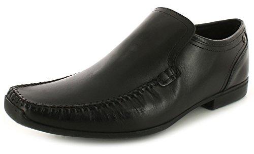 new-mens-gents-black-base-formal-slip-on-stylish-shoe-black-uk-size-8