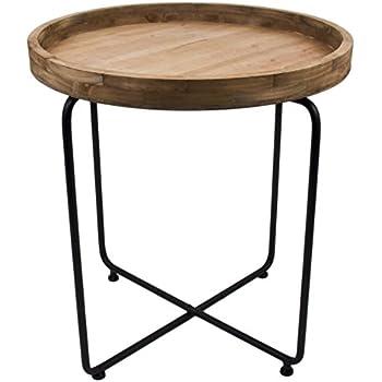 designer teakholztisch rund einzigartige tischplatte f r tollen vintage style massiv und. Black Bedroom Furniture Sets. Home Design Ideas