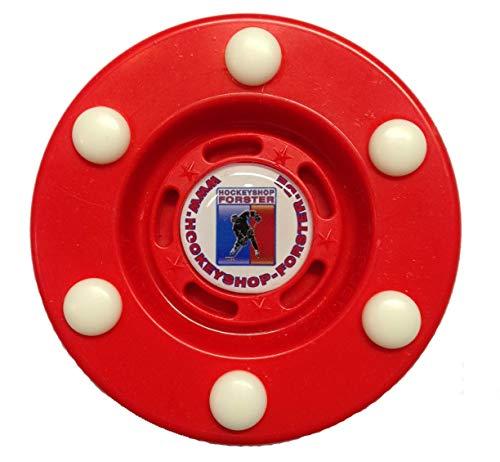 Stilmat Offizieller IHD Inline Hockey Puck - Rot