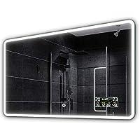 ALASTA® Miroir | LED Miroir Mural | 160x70cm | Osaka | Nouvelle Génération Miroir de Salle de Bain | Mirror Cosmetic en Option