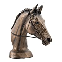William Hunter Equestrian Harriet Glen Cold Cast Bronze Resin Horse