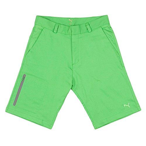 Puma Herren Tech Golf Shorts - Vibrant Green, Herren, grün W 32