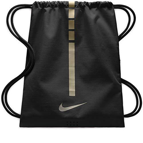 Nike Herren Nk Hps Elt Gmsk - 2.0 Stofftasche, Mehrfarbig (Black/Metallic Gold /) /, 8x15x20 centimeters