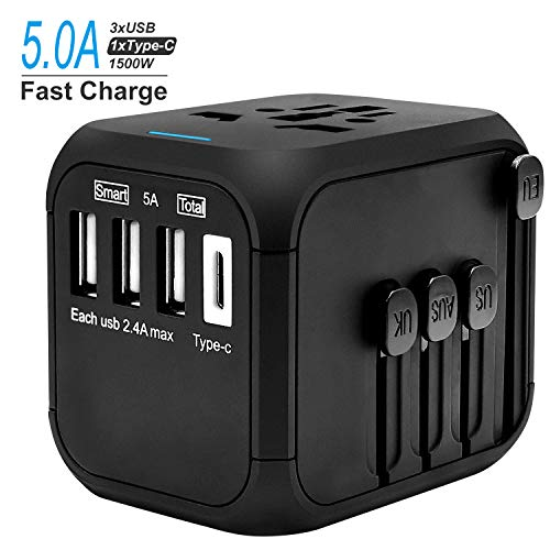 Universal Travel Adapter Europa UK Australien USA China - Haartrockner Für Australien