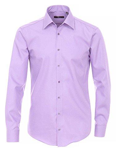 Venti Herren Businesshemd Violett (Lila 91)