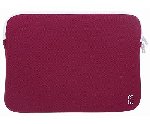 MW mw-410004lpru Schutz Sleeve Schutzhülle für 15Zoll MacBook Pro-Pflaume/Weiß - Pflaume Macbook Pro