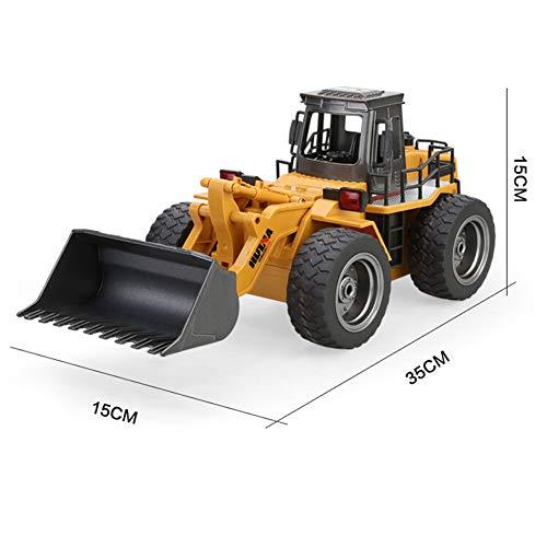 RC Auto kaufen Baufahrzeug Bild 3: omufipw 2,4 G Funksteuerung Bulldozer Frontlader Baufahrzeug Elektronisches Spielzeug RC Truck Traktor Junge Geschenk*