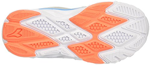 Diadora Hawk 7 Jr, Chaussures de Course Mixte Enfant Gris (Grigio Alluminio/bianco)