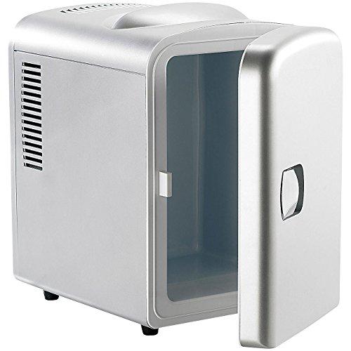 Monsterzeug Minikühlschrank mit Warmhaltefunktion, 4 Liter Stauraum, Camping Ausrüstung zum Getränke kalt halten