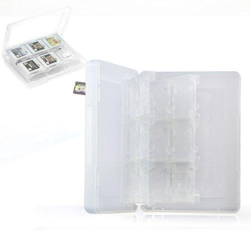 "Neuftech® 22+2"" giochi card Case custodia per Nintendo 3DS XL, 3DS, DS, DSi - bianca"