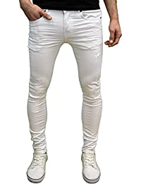 Amazon.co.uk: White - Jeans / Men: Clothing