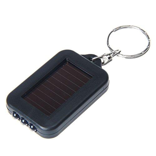 Dtuta Tragbare Ultra-Mini-Lampe LED-Taschenlampe Schlüsselbund Taschenlampe 3 LED-Schlüsselanhänger Licht kompakt Nicht in Position