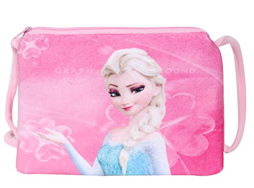Chords Baby Pink Disney Frozen Princesses Elder Sisters Elsa Side Bag For Girls …