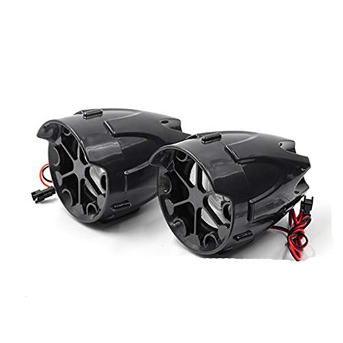 ADKINC Altavoces estéreo de Motocicleta Bluetooth de 3 Pulgadas a Prueba de...
