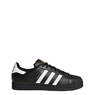 official photos ebb56 55d24 adidas Originals Superstar B27140, Unisex-Erwachsene Low-Top Sneaker,  Schwarz (Core