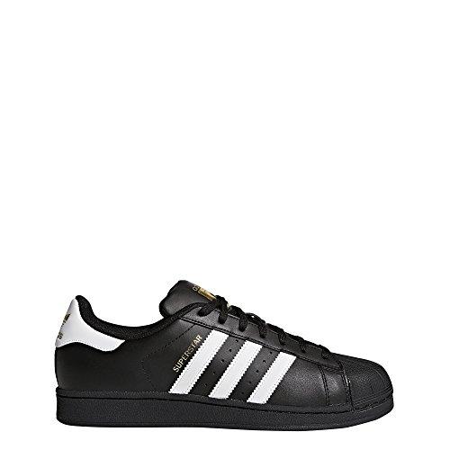 official photos 3f7d9 82928 adidas Originals Superstar Foundation Herren Sneakers, B27140, Schwarz  (Core Black Ftwr White