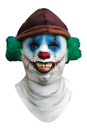 Scary Halloween Kopf-, Hals- und Gesichtsschutz Clown Vago gruselige Party Kostüm