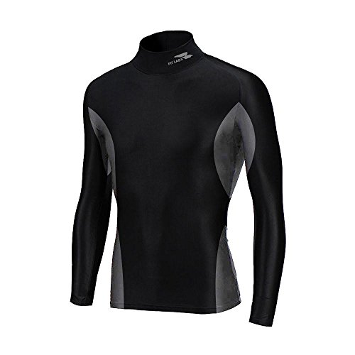 Fit Labs BodyBase Sports Compression T Shirt - Black (M...