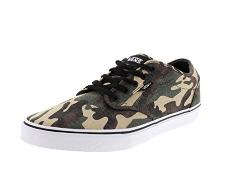 Vans Mn Atwood, Sneakers Basses Homme Grün (Textile)