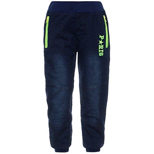 Pumphose Kinder Harem-Hose Sport-Hose Freizeit Jeans Style Optik 21793 Größe 140 (Kleid Jungen Shorts Leinen)