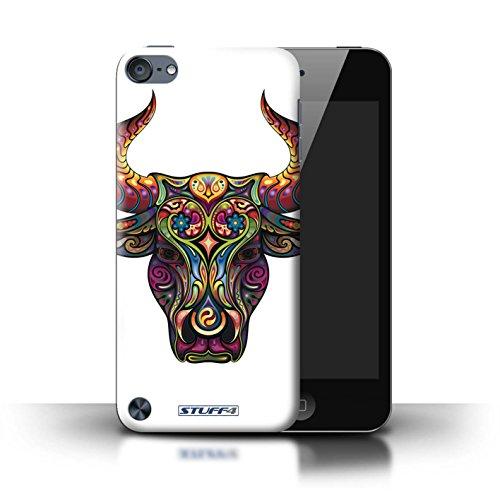 Stuff4® Hülle/Hülle für Apple iPod Touch 5 (5th Generation) / Stier Muster/Deko-Tiere Kollektion (Mädchen Ipod-taschen 4. Generation)