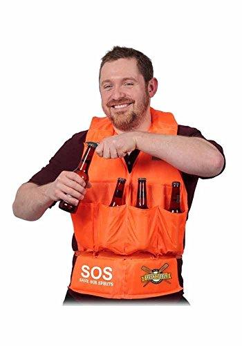 Preisvergleich Produktbild Mr.Giggelz Bier Rettungsweste - Creek Stores