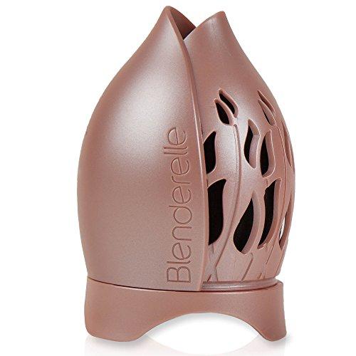 Estuche de almacenamiento de esponja para difuminar maquillaje de Blenderelle, estuche de viaje y soporte de exposición