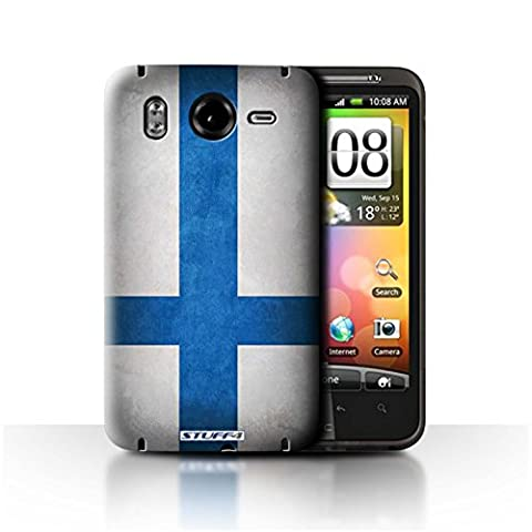 STUFF4 Phone Case / Cover for HTC Desire HD/G10 / Finland/Finnish Design / Flags Collection