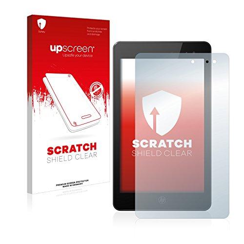 upscreen Scratch Shield Schutzfolie kompatibel mit HP Envy 8 Note - Kristallklar, Kratzschutz, Anti-Fingerprint