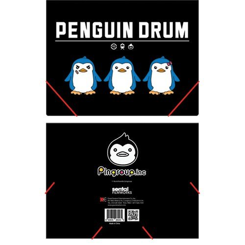 Penguin Drum Pingroup Elastic Band DocuHommet Folder
