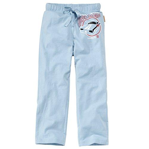 wellyou Schlafanzug Hose, lang, hellblau