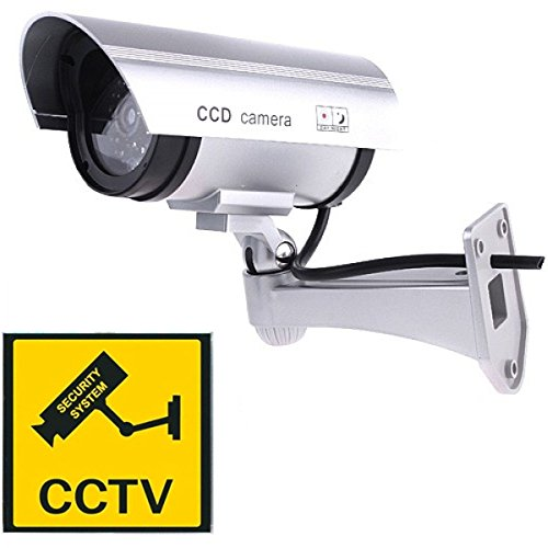 PARA Realistic Look Dummy Security Fack CCTV Camera, Multi