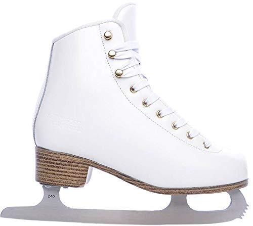 Unbekannt Tempish Experie Eiskunstlauf Schlittschuhe (Weiß - 38)