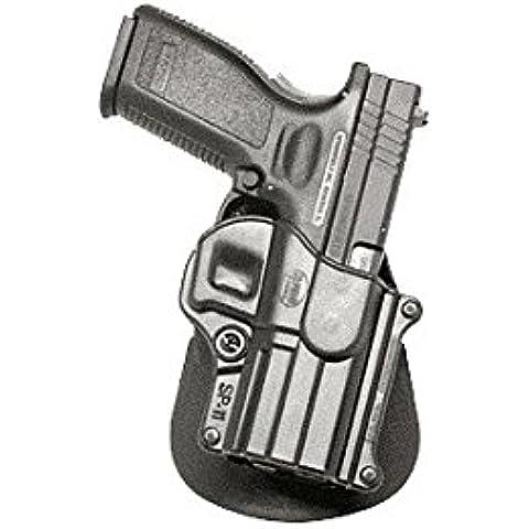 Fobus Conceal carry per caviglia Springfield XD XDM HS/2000/Taurus PT609 titanio, 24/7 9 PT & 40 mm